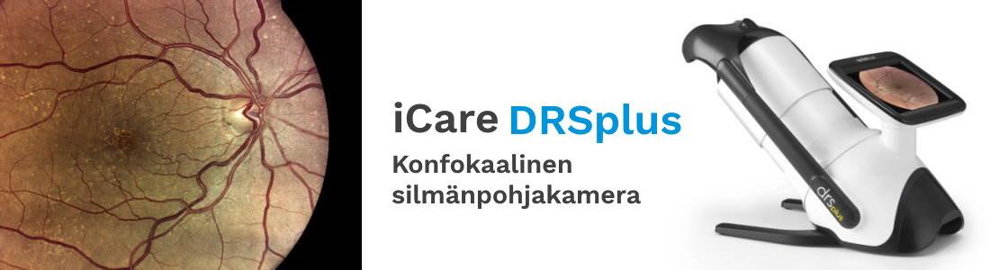 iCare DRSplus silmänpohjakamera